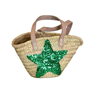 05/4410SS Childs Palm Shopper with Sequin Star