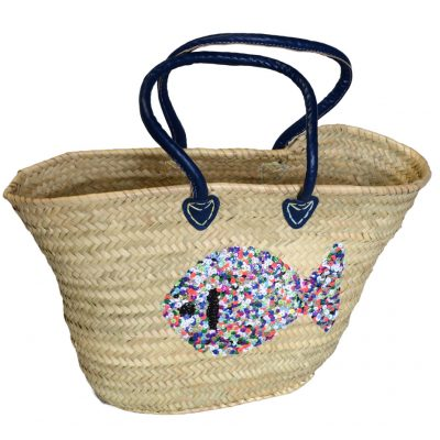 05/4640MCF Palm Shopper with Sequin Fish