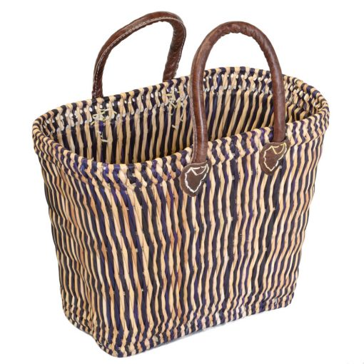 05/6110M Shaped Blue Bulrush Shopper