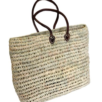 05/7250R Palm Shopping Basket Open Weave