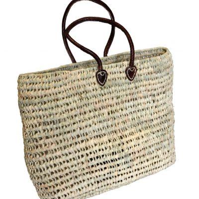 05/7250R Palm Shopping Basket Open Weave