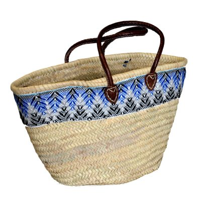 05/9TGOB Palm Shopper with Blue Tapestry