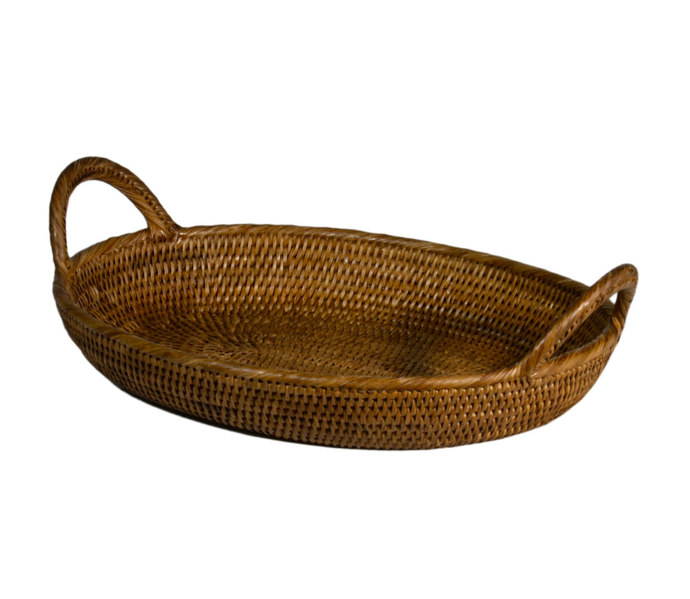 03/9434 Large Oval Basket with Handles