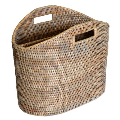 08/9037G Magazine Basket Grey Finish