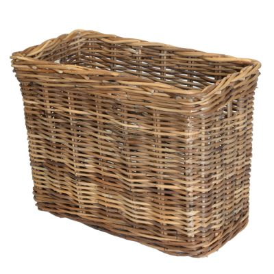 11/113G Grey Narrow Oblong Storage Basket