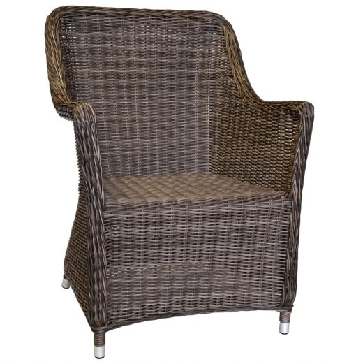 16/7053 Malibu All Weather Chair in Anthracite