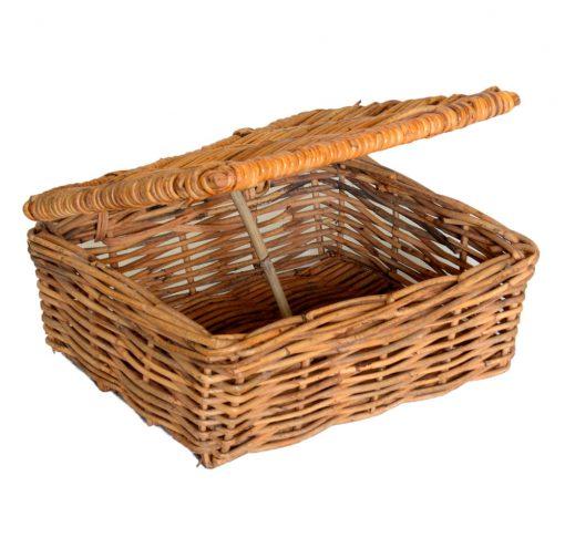 03/164 Medium Lidded Gift Basket