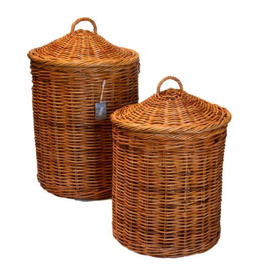 13/108 Set 2 Round Laundry Baskets