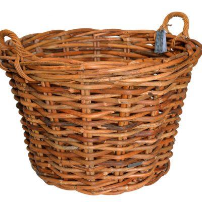 10/610669 Large Round Chunky Log Basket