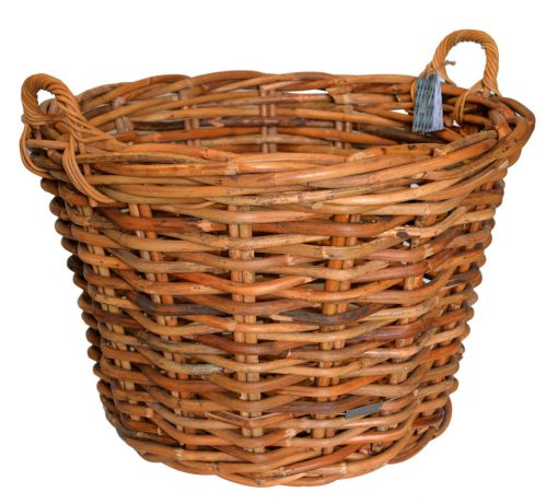 10/610669 Large Round Chunky Log Basket