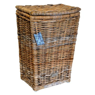 13/68892S Oblong Grey Shaped Laundry Basket.