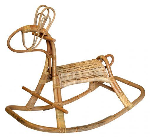 16/3003 Rattan Rocking Horse