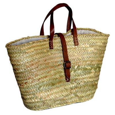 05/3330HF Palm Shopper Lined with Leather Securing Strap