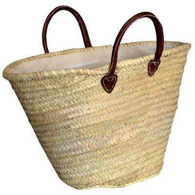 05/4130RSH Large Palm Shopper with Liner and Internal Zipped Pocket