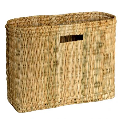 05/6178M Medium Oblong Bulrush Shopper/Storage with Finger Holes