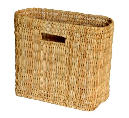 05/6178S Small Oblong Bulrush Shopper/Storage with Finger Holes