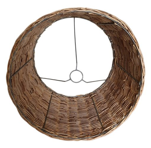 08-5110 Large Round Lampshade in Natural Srimit Rattan