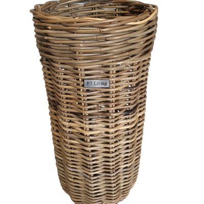 11/5216 Round Grey Umbrella Basket