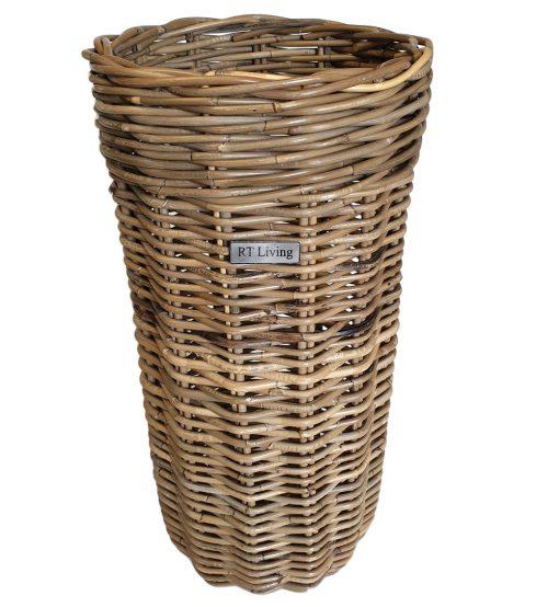 11/5216 Round Grey Umbrella Basket