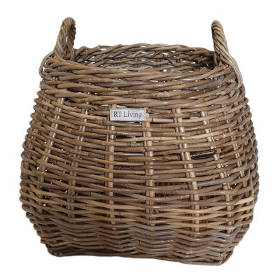 11/5689 Round Shaped Grey Billy Basket
