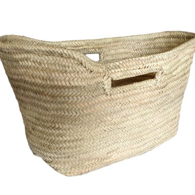-Palm Shopper with Finger Hole Handles