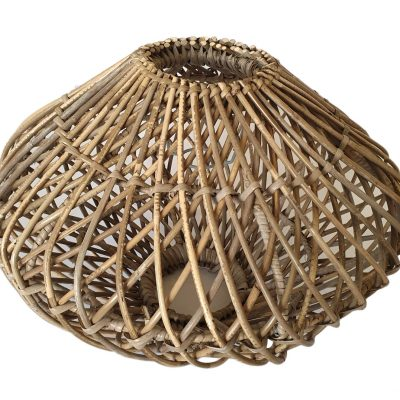04-6952 Round Grey Pendant Ceiling Light Shade