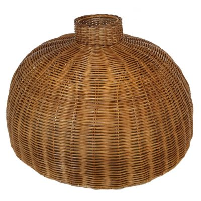 04-9020 Large Round Rattan Core Lampshade
