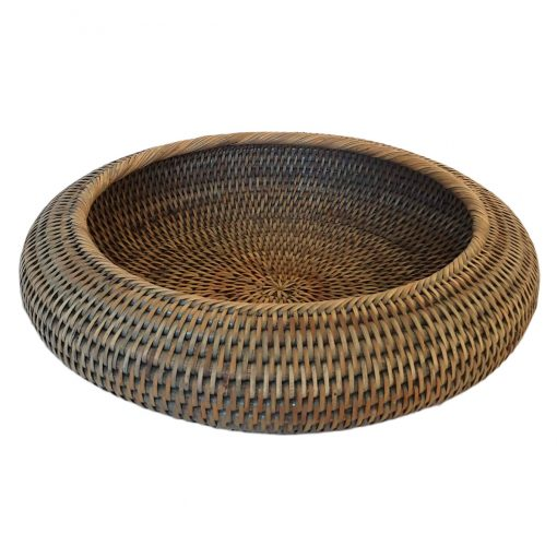 11-9034G Large Grey Round Shaped Bowl