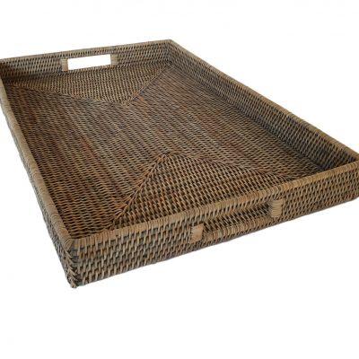 11-9105G Large Grey Ottoman Tray