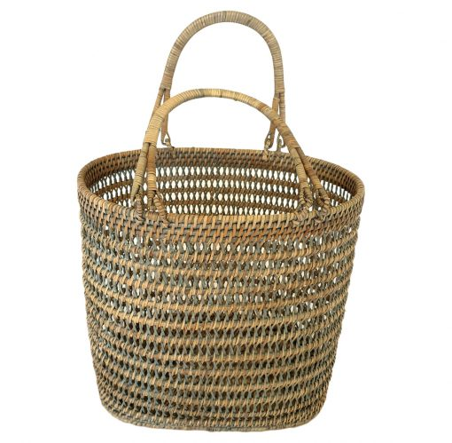 11-91153G Grey Interior Designer Basket
