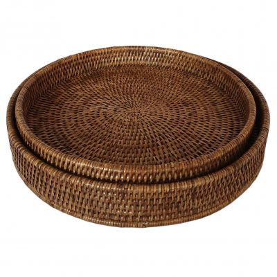 11-9519 Set 2 Round Trays